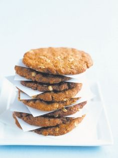 Donna hay anzac biscuits... Will be making these for my Nanna this Anzac day... A very special day we've shared together for years...