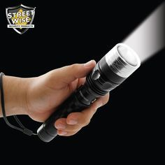 Streetwise Cree LED Flashlight with Self Defense Spikes - NuMercy.com