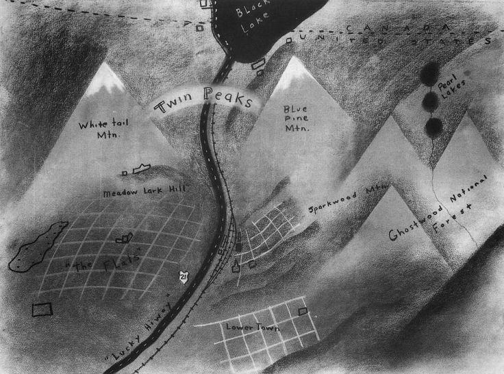 DARKNESS AND CHERRY PIE: DAVID LYNCH'S MAP OF TWIN PEAKS
