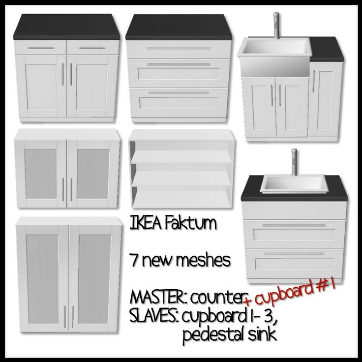 mystic_rain | Faktum Kitchen (Ikea look-a-like) - convert to sims 4!!!