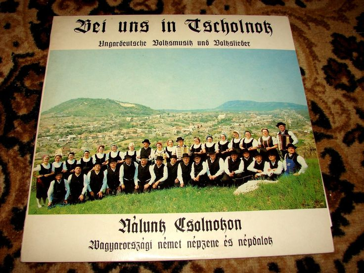 Csolnoki kórus BAKELIT lemezen 1988