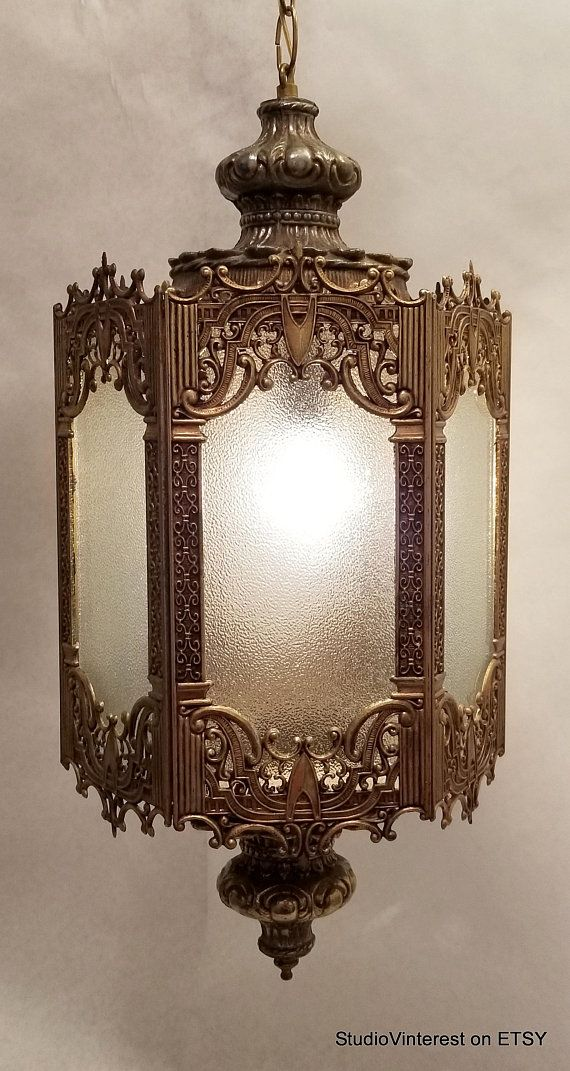 Hollywood Regency Lighting Fabulous Large Ornate Filigree