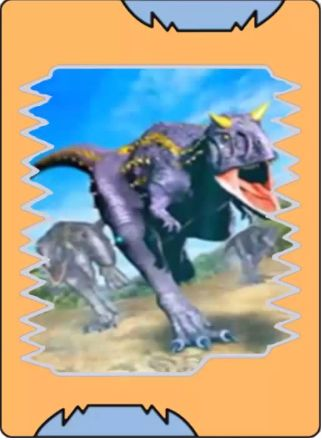 Ataque Ninja Dino Rey Cartas Rey Y Dinosaurios