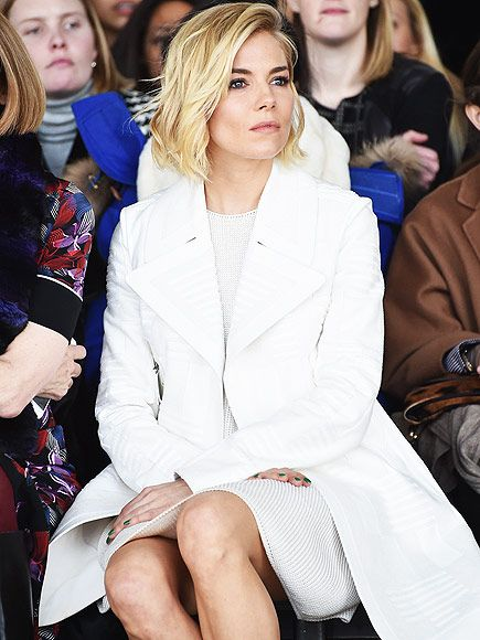 Star Tracks: Tuesday, February 24, 2015 | FRONT ROW, CENTER | Sienna Miller takes time out of her busy schedule as the latest leading lady in Broadway's Cabaret to take in the Calvin Klein runway show at New York Fashion Week on Thursday.