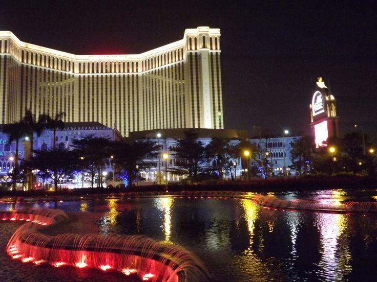 Macau at night  Image: Sadhvi Rampersad