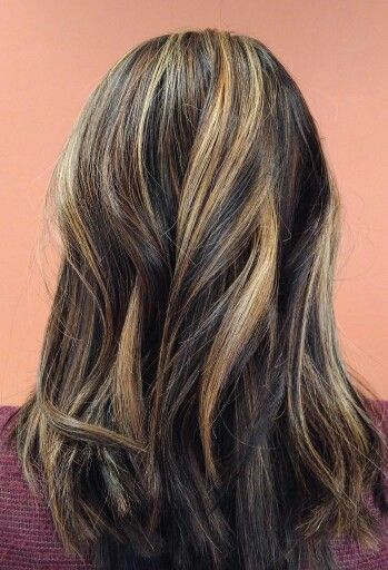 Best 25 black with blonde highlights ideas on pinterest blonde black hair with blonde highlights pmusecretfo Choice Image