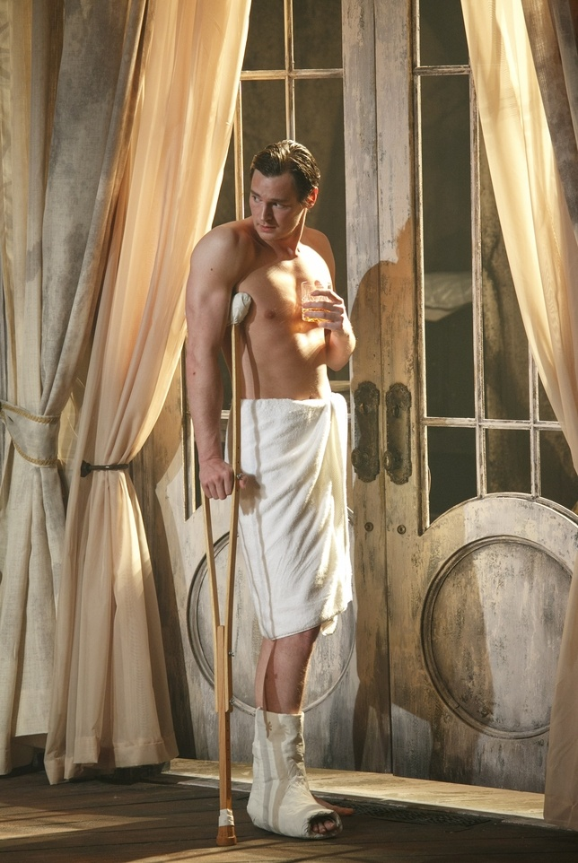 Benjamin Walker in Cat on a Hot Tin Roof  celebrityDUI.com