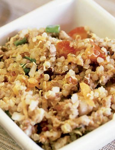 Receita de salada de quinoa sem glúten