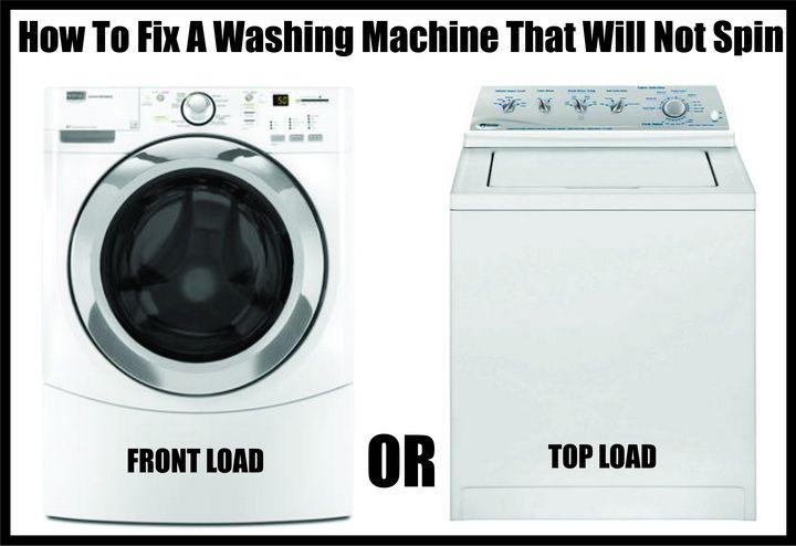 How To Fix a Washing Machine That Is Not Spinning or Draining.