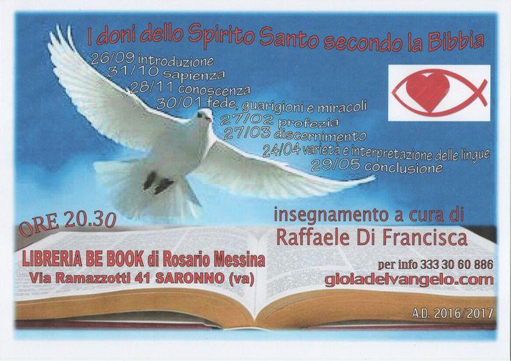 Studi biblici sui doni dello Spirito Santo secondo le Sacre Scritture. www.gioadelvangelo.com