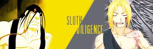 The Best Fullmetal Alchemist Posts — mustangst:  Seven deadly sins / Seven heavenly...