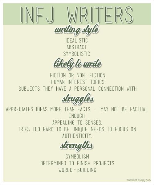 17 Best images about INFJ // INFP on Pinterest | Personality types ...