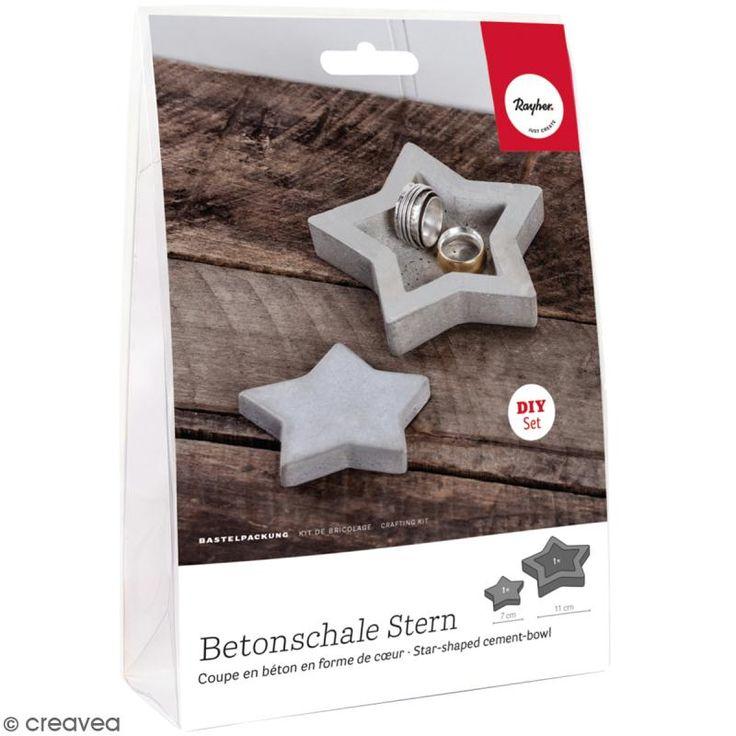 Compra nuestros productos a precios mini Kit de Manualidad cemento creativo - Estrella - Entrega rápida, gratuita a partir de 89 € !