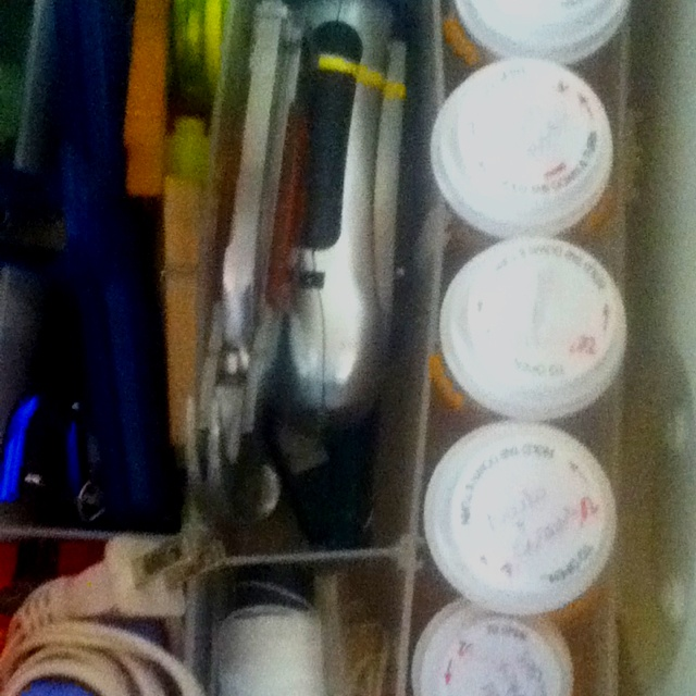 Use empty pill bottles to keep junk drawer organized for What to do with empty prescription bottles
