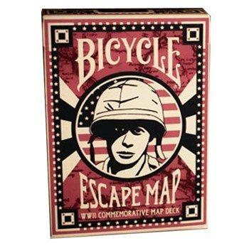 BARAJA BICYCLE MAPA DE ESCAPE - USPCC - CLOSE-UP magicshop