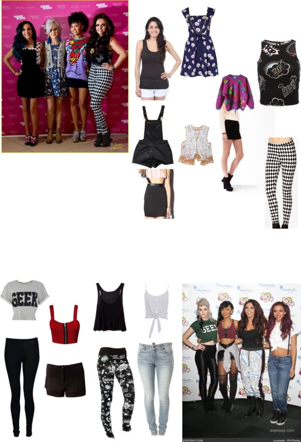 Little Mix Outfits Wings