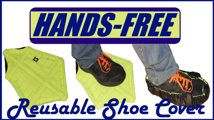 Hands-free Reusable Shoe Cover project video thumbnail