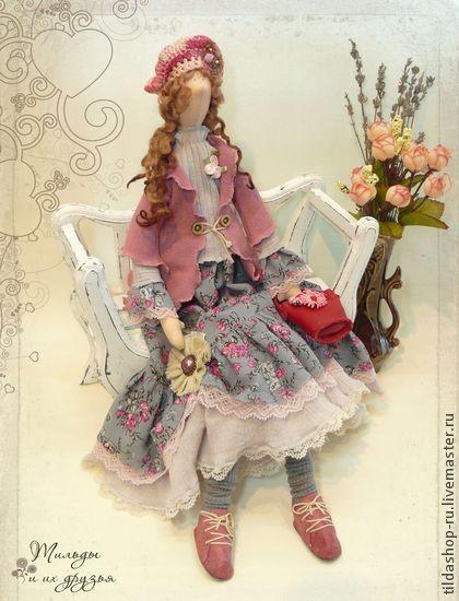 Куклы Тильды ручной работы. Ярмарка Мастеров - ручная работа Кукла тильда: Филадельфия (коллекция Бохо). Handmade.
