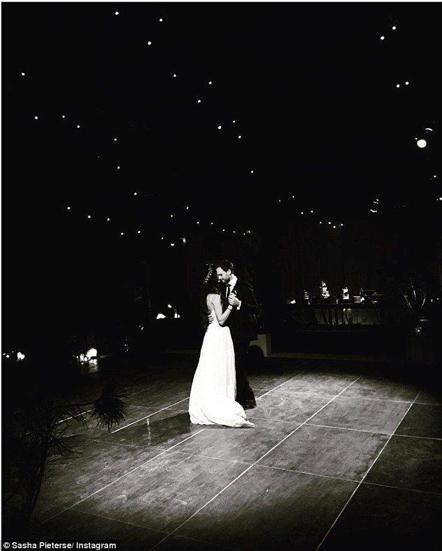 Troian Bellisario and Patrick Adams Wedding