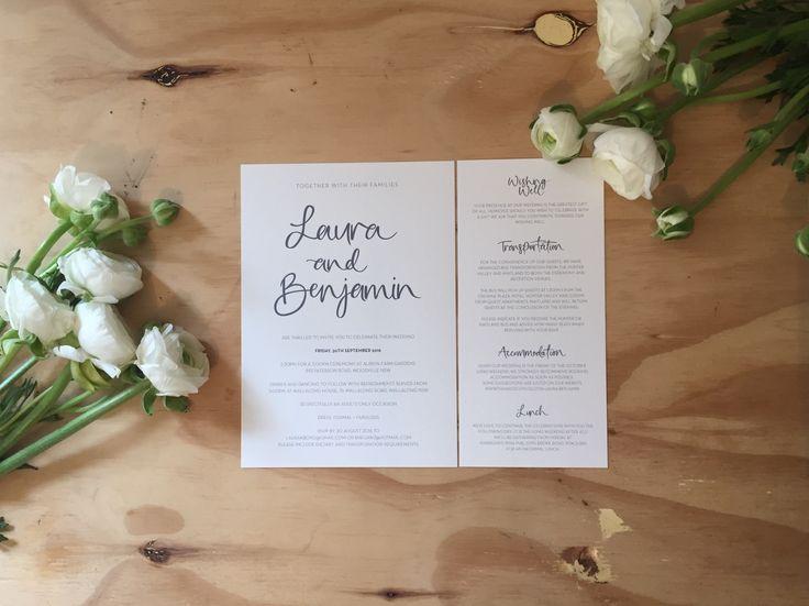theblackline by lauren: Custom Wedding Stationery & Calligraphy