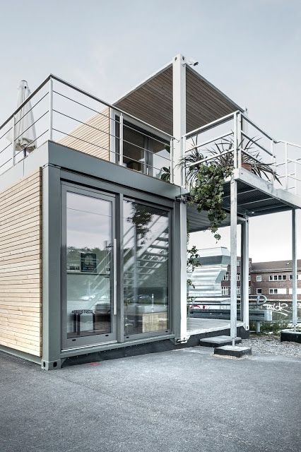Shipping Container Homes: Shipping Containers Upcycling in Large Format: Sea Freight Containers Become Living Modules