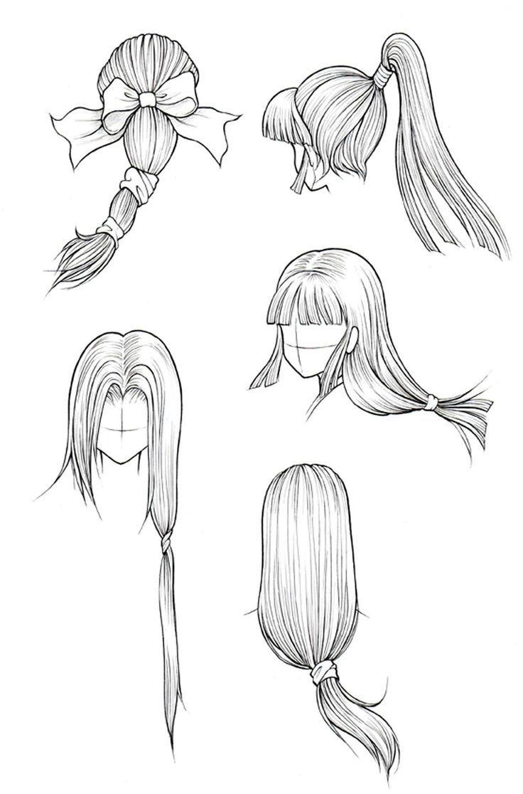 Coiffures Pour Le Dessin De Cheveux Longs Cheveux Coiffure Coiffurecheveuxco Cheveux Coiffure Dessin De Cheveux Dessin Longs Cheveux Coiffures Manga