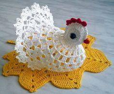 gallina uncinetto   Hobby lavori femminili - ricamo - uncinetto - maglia