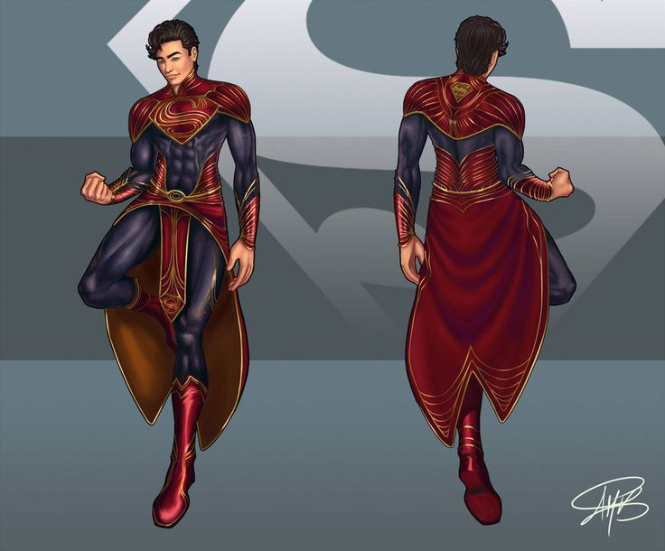 Superman redesign concept by Vacqs