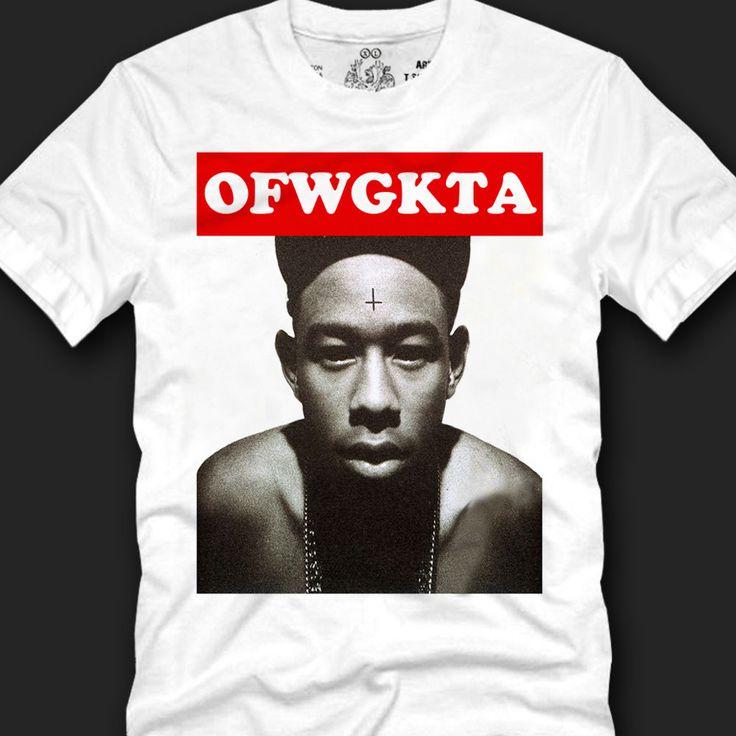 Men's T- shirts Unique,  TYLER THE CREATOR,OFWGKTA,odd future, Wolf Gang copy  #Koreanleadingfashiontrends #GraphicTee