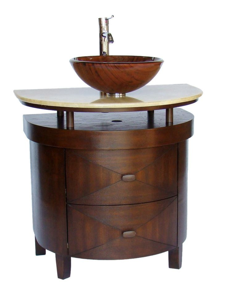 Small Vessel Sink Vanity : small bathroom vanities vessel sink bathroom vanity sink bathroom ...