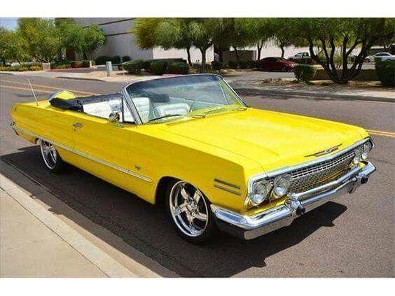 1966 Cheverolet Impala Convertable #chevroletimpala1966