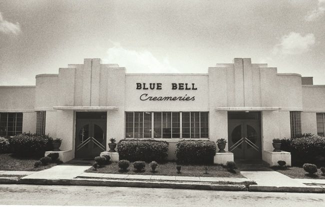 Blue Bell Ice Cream - Creameries - Building - Black and ...
