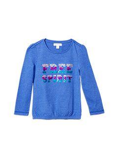 Girlswear Free Spirit Tee Star Blue tee