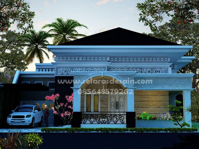 Desain Rumah Klasik Minimalis