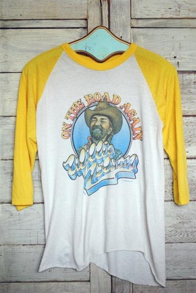 ¡Una camiseta de Willie Nelson! ¡¡Existen!!