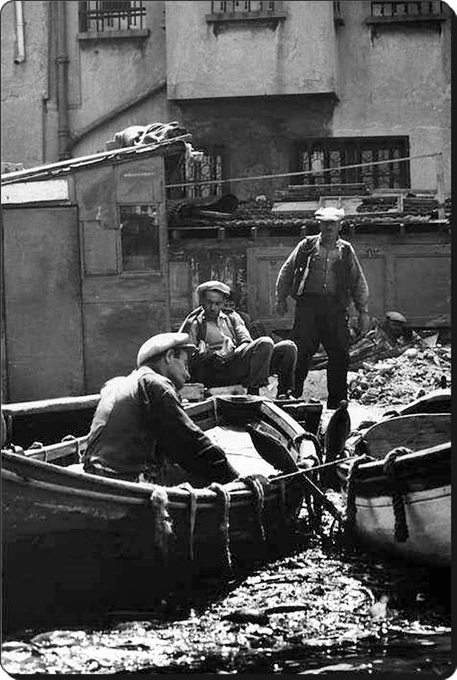 Haliç - 1957 Fotoğraf : Ara Güler