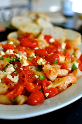Roasted Tomato - and - Feta Shrimp | comfort food (the lazy way) | Pi ...