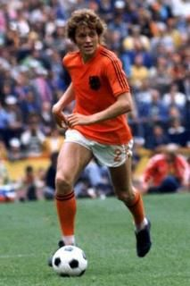 """Arend """"Arie"""" Haan (born 16 November 1948 in Finsterwolde, Netherlands) is a former Dutch footballer and coach, who played as a midfielder. He scored 6 goals in 35 matches for the Dutch national squad of the 1970s. At club level he enjoyed a successful career with AFC Ajax, R.S.C. Anderlecht, Standard Liège and PSV Eindhoven. He participated seven times in European Cup finals. He was also known for his goals from long distance."""