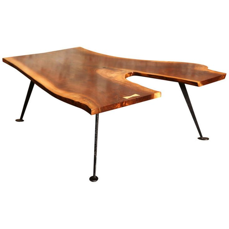 Get Back Inc   Industrial Free Form Walnut Coffee Table with Maple Butterfly. 112 best Vintage Industrial Tables images on Pinterest