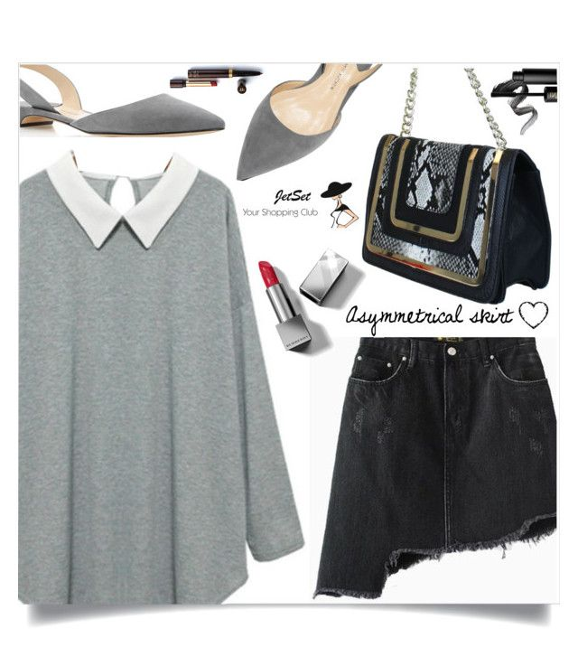 """""""JetSet Shop!"""" by samra-bv ❤ liked on Polyvore featuring Paul Andrew, Christian Dior, Carbotti, Burberry and INIKA"""