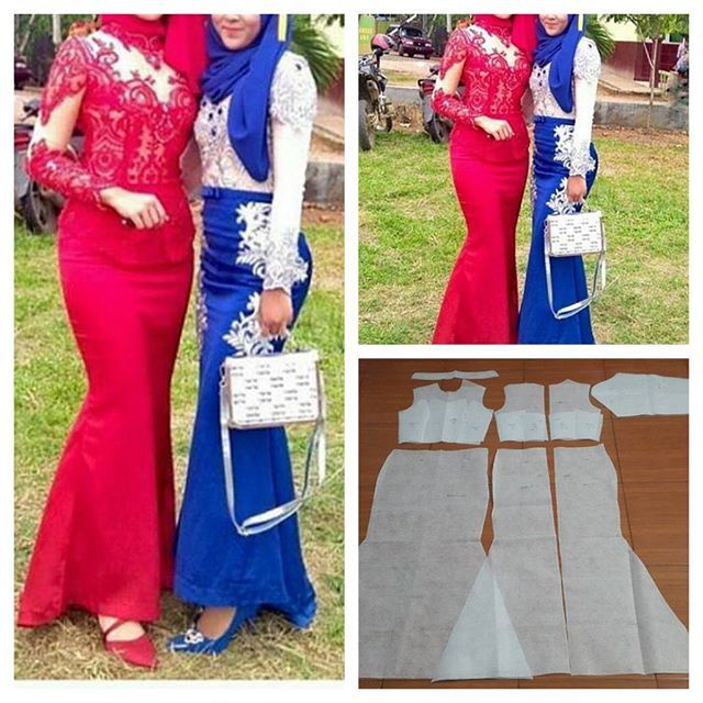 Basic kebaya graduation pattern dress  Order via line : @modelliste (with @) #dresspattern#modellistepattern#poladress#jualpola#jasapola#polabaju#jualpoladress#jasapembuatanpola#polakebaya#kebayadress#kebayapattern#polabajukebaya#polatile#polarok