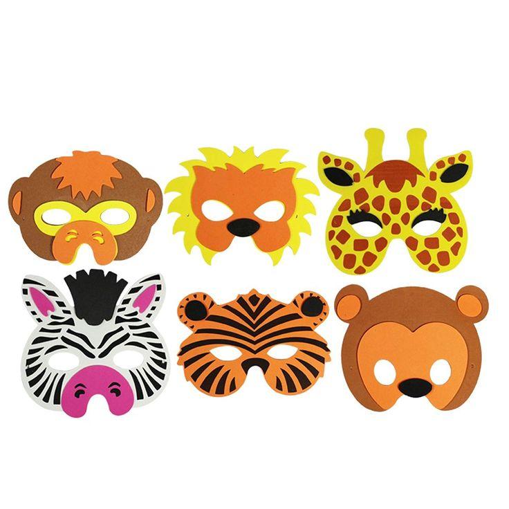 Der Spielzeugtester hat das COM-FOUR® 6-teiliges Tiermaskenset, Löwe, Tiger, G… – Spielzeugtester