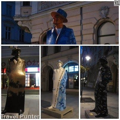 #Travel #art in  #Łódź Walk of Fame