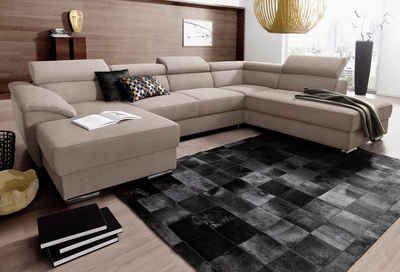 roomed Wohnlandschaft, wahlweise mit Bettfunktion  #sofa #couch #sofaliebe #neckermannde #ecksofa #schlafsofa #andas #interior #einrichtung