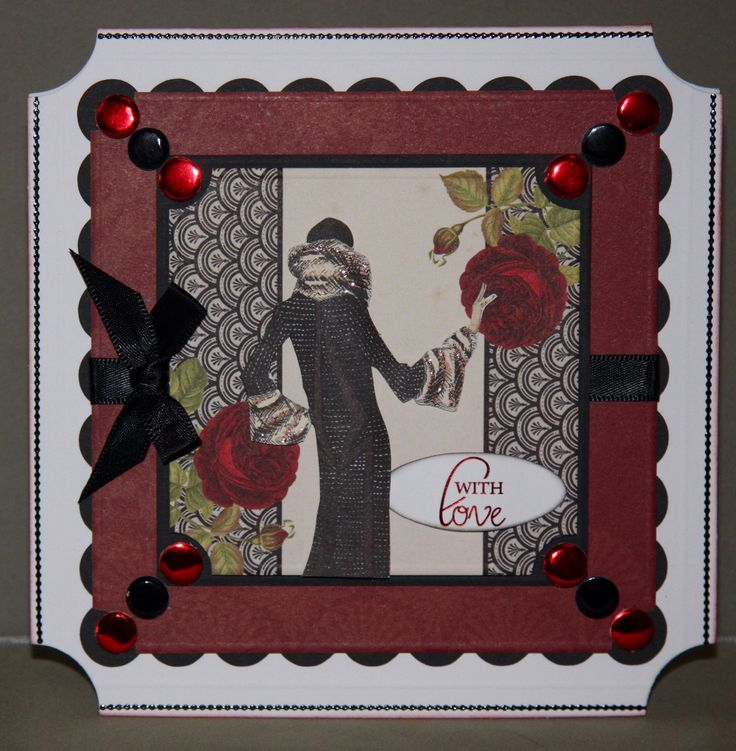 Card created using Deco and Decadence Collections, by Debbie Moran www.craftworkcards.com