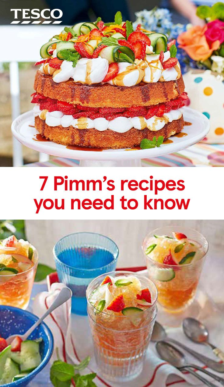 There is so much more you can do with Pimms than just making the classic cocktail. Put it to work in our amazing Pimms recipes, from a boozy ice lolly to a showstopping cake.