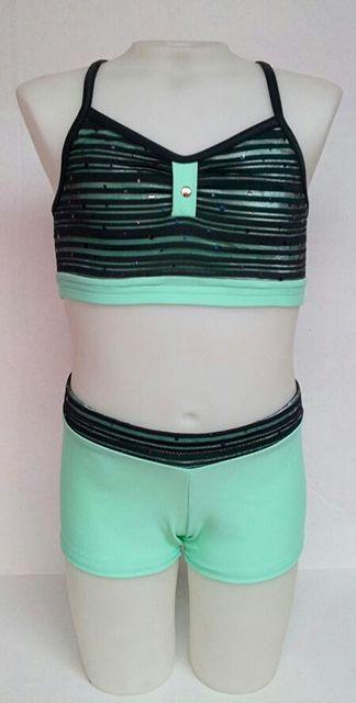 Sadie Jane Dancewear - Mint Crop Set, $50.00 (http://www.sadiejane.com/mint-crop-set/)