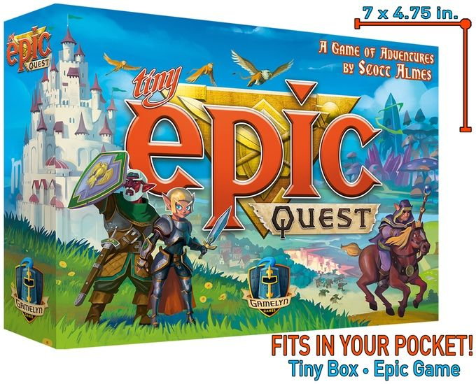 Tiny Epic Quest - Introducing ITEMeeples™ by Gamelyn Games — Kickstarter