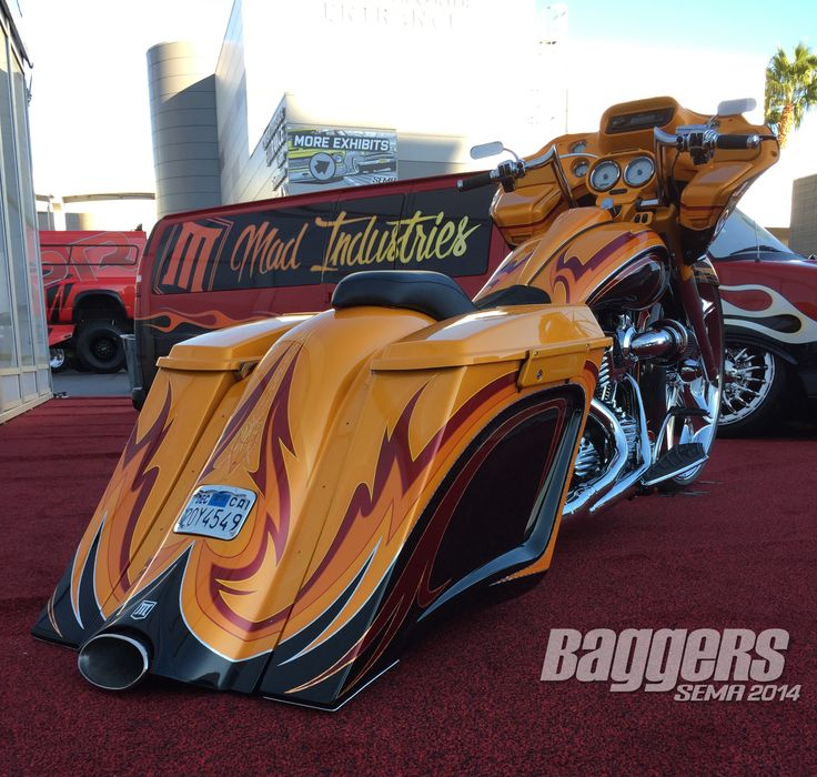 SEMA 2014: The Best Harley-Davidson Custom Baggers                                                                                                                                                                                 More