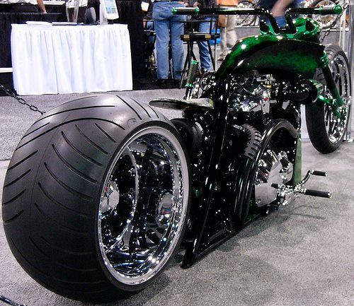 Mean and Green | Best Motorcycles | Totally Rad Choppers ...